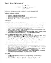Example Of Security Guard Resume Examples Of Resumes