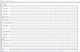 Workout Journal Template Excel - Fast.lunchrock.co