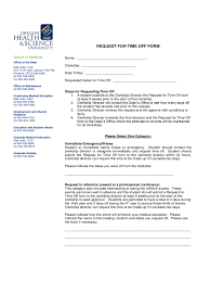 Paid Time Off Form Template Time Off Request Form 5 Free Templates In Pdf Word Excel Download