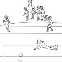 Small Picture SOCCER coloring pages Coloring pages Printable Coloring Pages