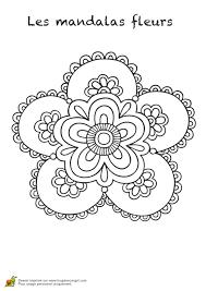 Coloriage Mandalas Fleurs Sur Hugolescargot Com Coloriage Mandalas Fleurs L