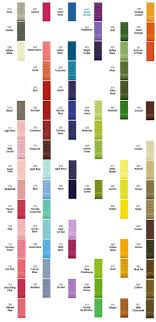 Offray Grosgrain Ribbon Color Chart