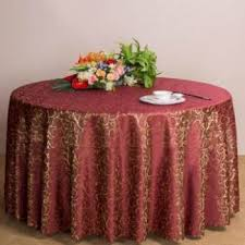 ihambing ang pinakabagong lt365 classic jacquard fl round tablecloth luxury overlay table cover 160cm wine red