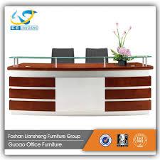 office counter design. Chic Latest Office Counter Designs Wooden Desk Interior Decor: Small Size Design