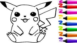 Dessin Facile Coloriage Pokemon Pikachu Dessiner Pokemon Et