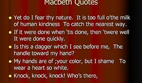 Famous Macbeth Quotes Classy Famous Macbeth Quotes QUOTES OF DAILY