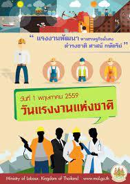 กระทรวงแรงงาน - วันแรงงานแห่งชาติ (Mayday) ในประเทศไทย  ได้เริ่มมีการจัดการบริหารแรงงาน ขึ้นในปี พ.ศ. 2475 ซึ่งเป็นการจัดสรร  และพัฒนาแรงงาน คุ้มครองดูแลสภาพการทำงาน สร้างรากฐาน กระบวนการส่งเสริม  ความสัมพันธ์ ระหว่าง นายจ้างและลูกจ้าง ในวันที่ 20 เมษายน ...