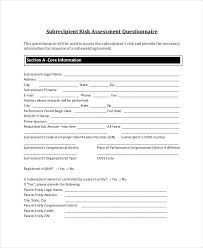 Survey Template Doc Risk Assessment Survey Template Luckyclean Co