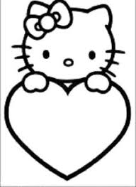 Small Picture Hello Kitty coloring picture Illustration Design Pinterest