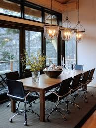Diy Lighting Fixture With Long Dining Table Dining Room Igf USA