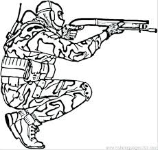 Toy Soldier Coloring Pages Printable To Print Camouflage Other