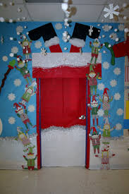 christmas classroom door decorations. Baby Nursery: Likable Easy Homemade Christmas Decoration Ideas All About Gingerb Man Main Attraction An Classroom Door Decorations R