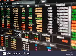 Data Graph Of Stock Market Financial Chart Stock Market
