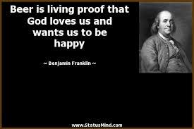 Ben Franklin Beer Quote Classy Benjamin Franklin Quotes At StatusMind Page 48 StatusMind