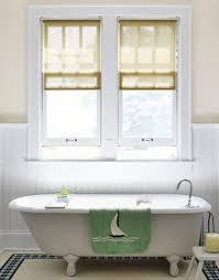Good Amazing Of Small Bathroom Window Treatment Ideas With ...