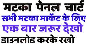 Satta Matka Time Bazar Panel Chart
