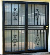 sliding glass door lock bar patio security doors security doors for sliding glass doors best sliding