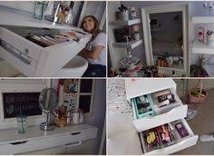updated makeup collection storage and organization june 2016 room tour beauty room