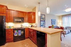 open kitchen living room floor plan. Open Floor Plan For Small Kitchen And Living Room Partition Ideas O