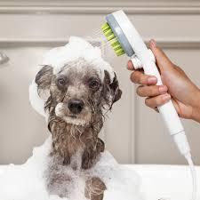 Pet Dog Washing Shower Sprayer Head ...