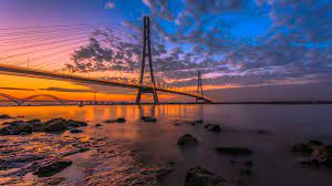 Nanjing Third Bridge Yangtze River ...