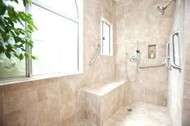 wheelchair accessible shower size handicap showers