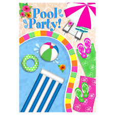 clip art pool party invitation clipartfest pool party swimming party