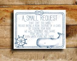 Nautical Baby Shower Message In A Bottle Sign Baby ShowerBaby Shower Message Book