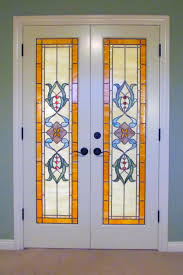 fantastic stained glass french doors glass designs ui97