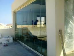 frameless glass bifold doors