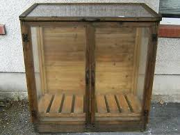 double door mini wooden greenhouse approx size w1200 x d600 x h1200cm
