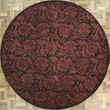 dark round area rugs with fl pattern for floor accessories ideas rug target recycled plastic o decorating pretty decoration mat western style