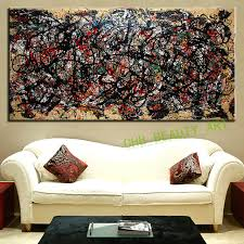 the most famous large canvas painting abstract art wall pictures for living room ideas print on