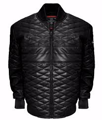 double diamond leather er jacket