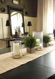 Dining Table Center Decorations