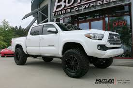 Toyota Tacoma with 18in Black Rhino Mint Wheels exclusively from ...