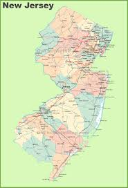 new jersey state maps  usa  maps of new jersey (nj)