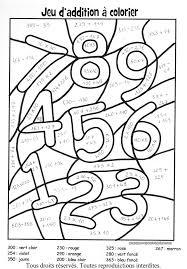 Dessin De Coloriage Addition Imprimer Cp00214 Jeux Enfant Coloriage L