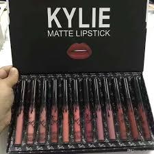 kylie 12 colors portable matte lipsticks kit moisturizing lip rouge gift set