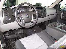 Dark Titanium Interior 2009 Chevrolet Silverado 1500 LS Extended ...