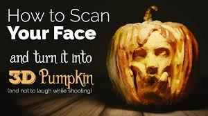 Cool Pumpkin Faces 123d Catch Tutorial Scan Your Face And Create A 3d Pumpkin