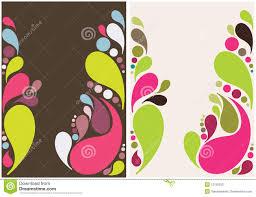 Design Droplets Colorful Splash Drops Background Design Stock Vector