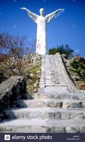 Statua del Cristo Redentore Maratea Basilicata Italia Foto stock - Alamy