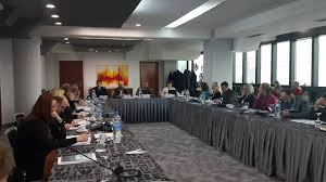 on january 28 2016 thursday at the arka hotel in skopje the first round table with representatives of the judiciary on the topic developing tools for
