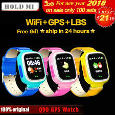 HoldMi Q90 GPS <b>Child Smart Watch</b> Phone Position Children <b>Watch</b> ...