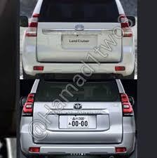 2018 toyota prado. exellent prado 2018 toyota land cruiser prado facelift rear leaked intended toyota prado
