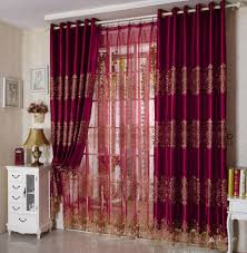 Maroon Curtains For Bedroom Modern Curtains