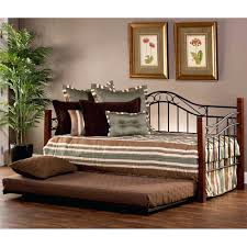 daybed black iron wood in cherry friday sale full size.