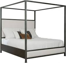 Kincaid Plank Road Charcoal Shelley Cal. King Canopy Bed - Plank ...