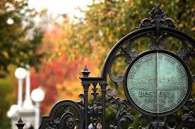 how to get into boston university